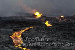 Current eruption HD footage of Kilauea volcano
