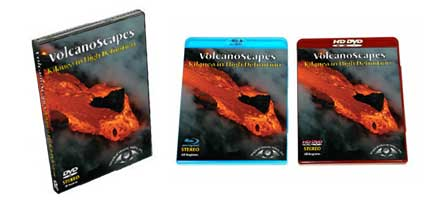 Sample of VolcanoScapes... Kilauea in High Definition in DVD, HD-DVD and Blu-Ray.