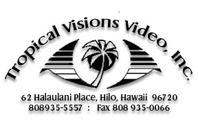 Tropical Visions Video logo